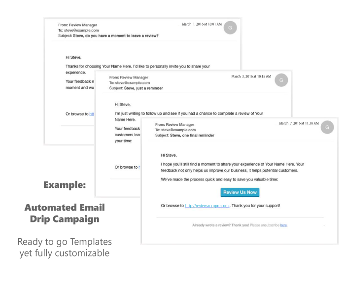 Marketing Automation - Email Drip Campaign